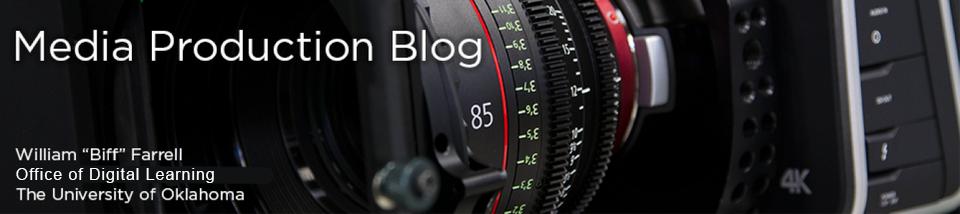 Media Production Blog